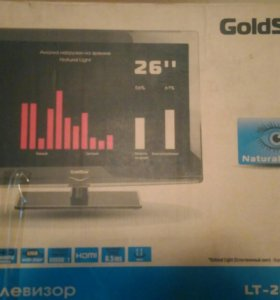 Телевозор GoldStar lt-26a310r