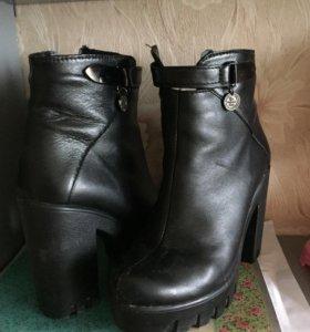 Ботинки 👍🏼 кожаные