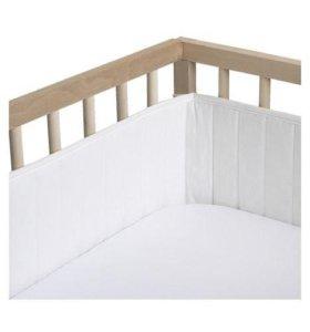 Бортик Икеа в детскую кроватку
