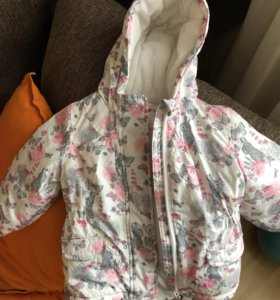 Куртка на девочку mothercare демисезонная