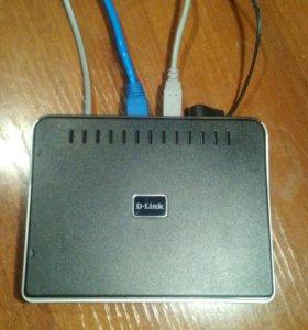 Маршрутизатор D-Link. Роутер DSL-2520U