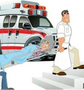 спуск подьем носилочных больных