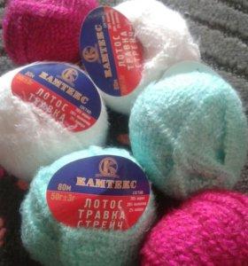 Пряжа для вязания или поделок.