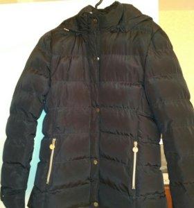 Куртка теплая удлинённая
