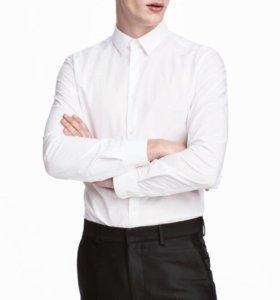 Классическая рубашка H&M CONSCIOUS EXCLUSIVE
