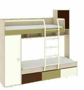 Кровать двухэтажнаях