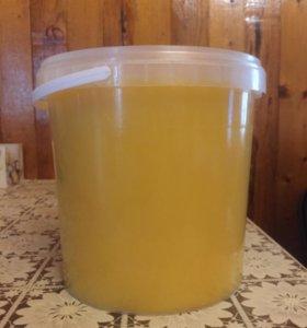 Мёд (разнотравие с подсолнухом)