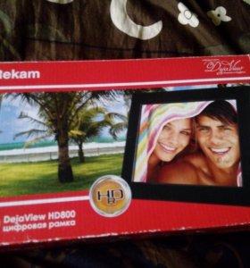 Цифровая рамка Rekam dejaview HD-800