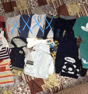 Пакет одежды 80-86 Mothercare