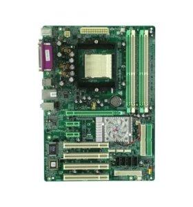 Материнская плата Biostar NF4-A9A Socket 939
