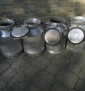Фляги алюминиевые 40 литровые