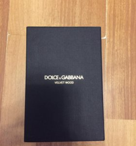 Dolce &Gabbana Velvet Wood 150ml