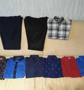 Рубашки пакетом