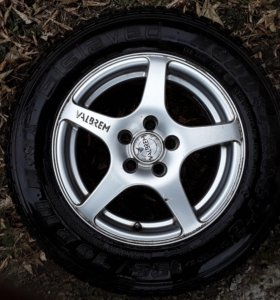 Литые диски с резиной, на Shkoda, Volkswagen