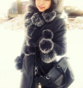 Пальто! Очень теплое!