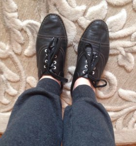 Ботинки Paolo Conte кожаные