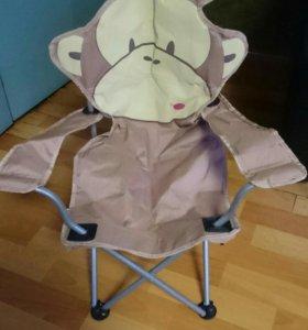 Детский складной стульчик