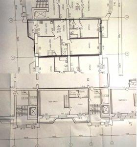 Квартира, 5 и более комнат, 129 м²