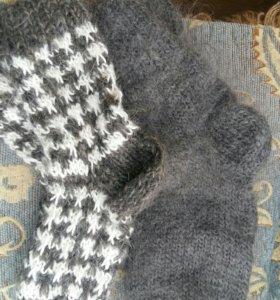 Носки из пуха