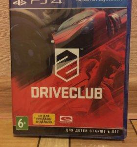 Диск DRIVECLAB на PS4