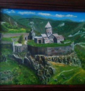 Картина монастырь