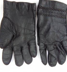 Перчатки(кожа).