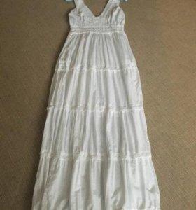 Сарафан/платье, новый, Италия, хлопок