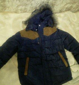 Куртка зимняя на мальчика 5 лет