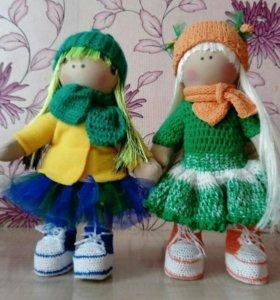 Текстильная куколка необычный подарок 🎁