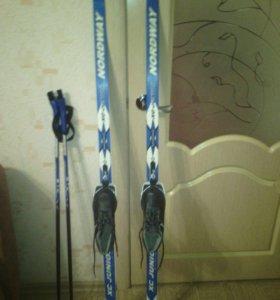 Лыжи 150 см