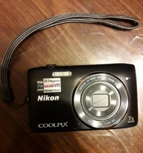 Фотоаппарат Nikon Coolpix S3500
