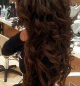 Локоны волос