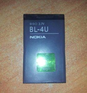 Батарея bl-4u для nokia