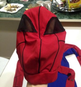 Человек паук костюм