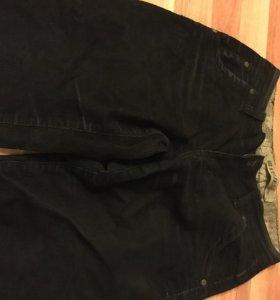 Вельветовые брюки- джинсы