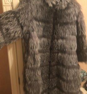 Новое пальто из чернобурки