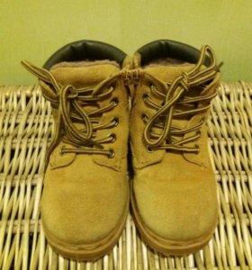 Ботинки зимние 28 размер, торг при покупке
