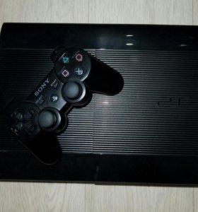PS 3 500 гб + 21 игра