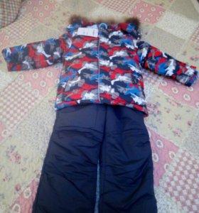 Зимний костюм на мальчика