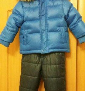 Зимний костюм р.74 (+6)