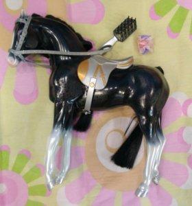 Bratz лошадь с расчёской
