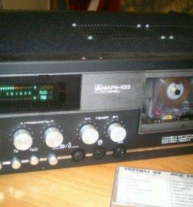 Магнитофон кассетный Маяк—233 Стерео