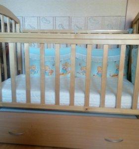 Детская кровать ,маятник.СРОЧНО. предлагайте цену