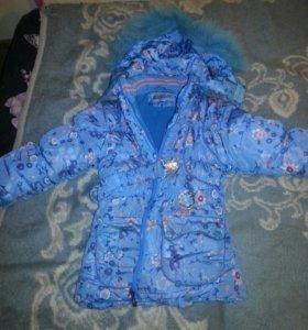 Куртка на девочку 6-7 лет