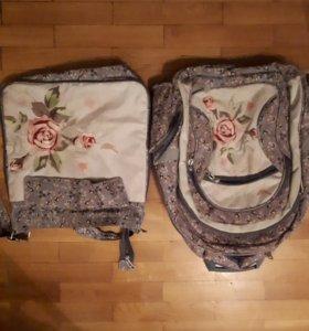 Ранец и сумка для обуви
