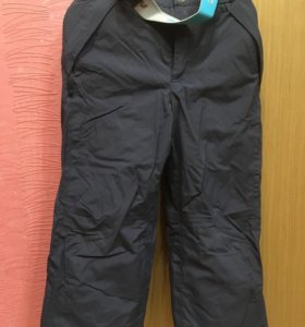 Полукомбинезон, брюки демисезонные на флисе