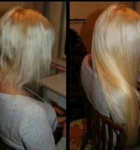 Наращивание волос NEW