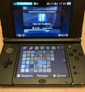 New Nintendo 3ds xl + 28 игр в комплекте.