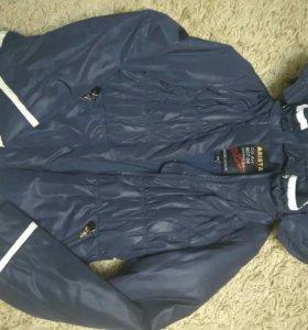 Куртки на девочку 122-128