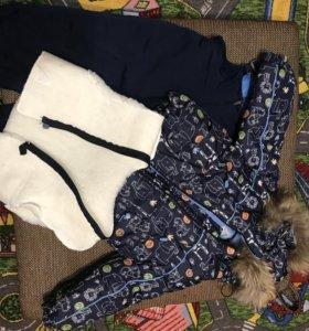 Зимний детский костюм на мальчика